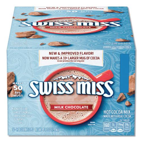 Swiss Miss® Hot Cocoa Mix, Regular, 0.73 oz. Packets,  50 Packets/Box