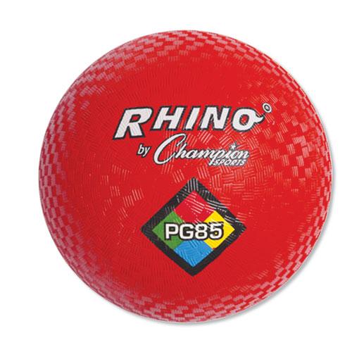 Playground Ball, 8-1/2 Diameter, Red