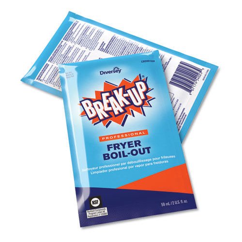 Fryer Boil-Out, Ready to Use, 2 oz Packet, 36/Carton