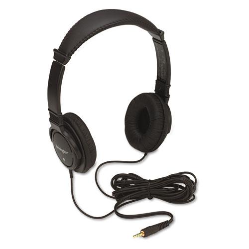 Hi-Fi Headphones, Plush Sealed Earpads, Black | by Plexsupply