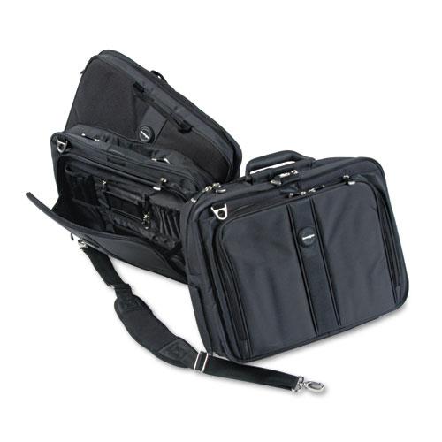 "Contour Pro 17"" Laptop Carrying Case, Nylon, 17 1/2 x 8 1/2 x 13, Black | by Plexsupply"