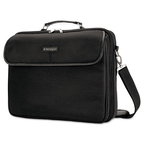 Simply Portable 30 Laptop Case, 15 3/4 x 3 x 13 1/2, Black | by Plexsupply