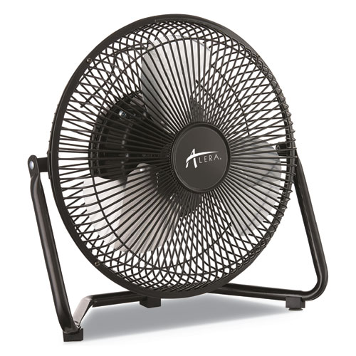 9 Personal Cooling Fan, 3 Speed, Black