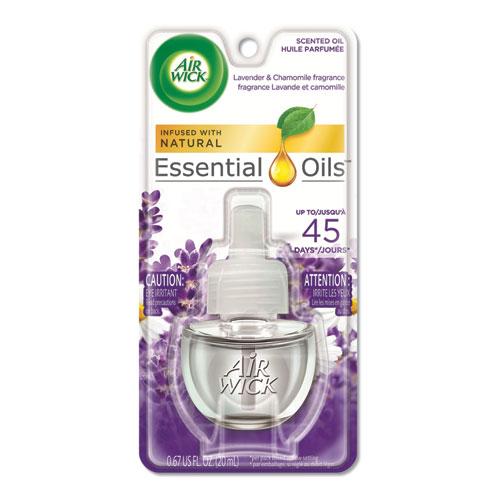 Scented Oil Refill, Lavender and Chamo mile, Purple, 0.67 oz
