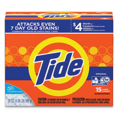 Powder Laundry Detergent, Original Scent, 20oz Box