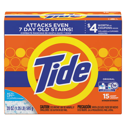 Tide® Powder Laundry Detergent, Original Scent, 20oz Box