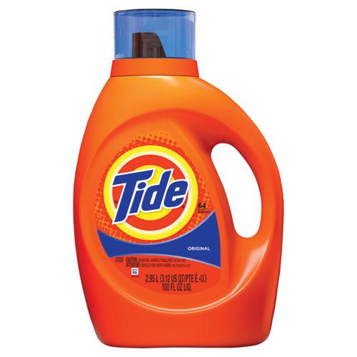 Tide® Liquid Laundry Detergent, Original Scent, 10 oz Bottle, 12/Carton