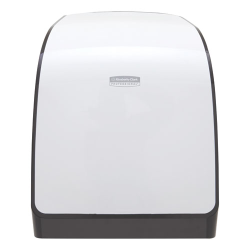 Pro Mod Manual Hard Roll Towel Dispenser, 12.66 x 9.18 x 16.44, White