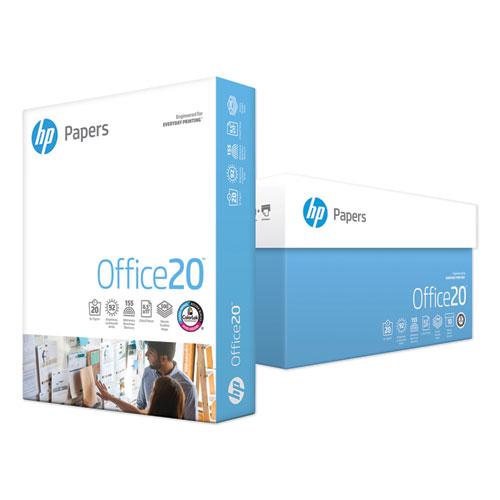 Office20 Paper, 92 Bright, 20lb, 8.5 x 11, White, 500 Sheets/Ream, 10 Reams/Carton