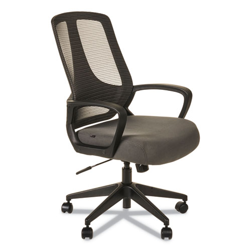 Wondrous Alera Mb Series Mesh Mid Back Office Chair Gray Black Cjindustries Chair Design For Home Cjindustriesco