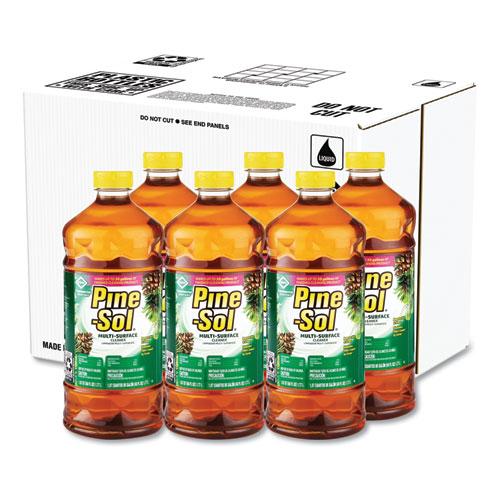 Pine-Sol® Multi-Surface Cleaner Disinfectant, Pine, 60oz Bottle, 6 Bottles/Carton