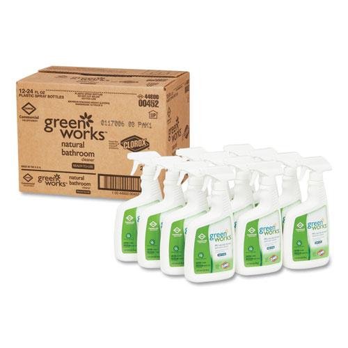 Bathroom Cleaner, 24 oz Spray Bottle, 12/Carton