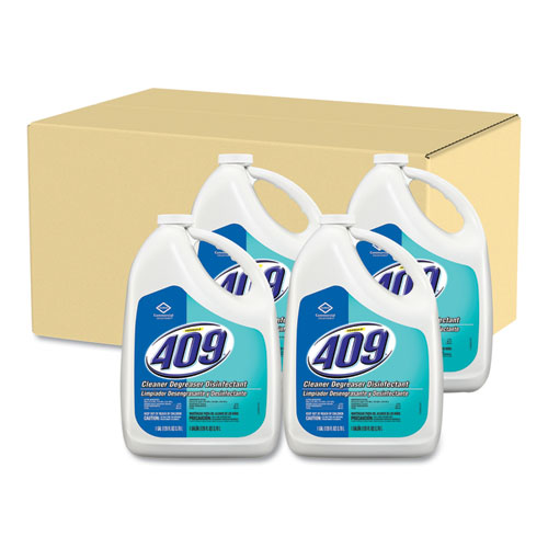 Formula 409® Cleaner Degreaser Disinfectant, Refill, 128 oz 4/Carton