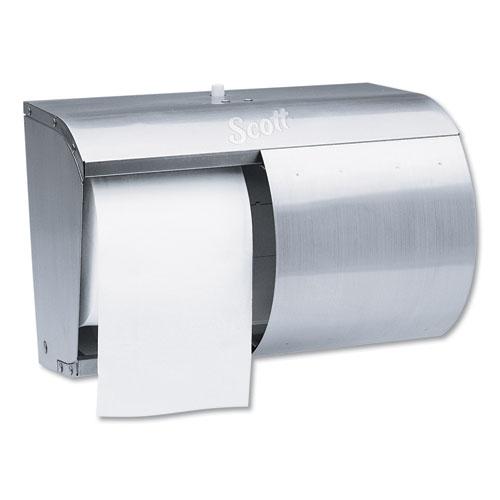 Pro Coreless SRB Tissue Dispenser, 7 1/10 x 10 1/10 x 6 2/5, Stainless Steel
