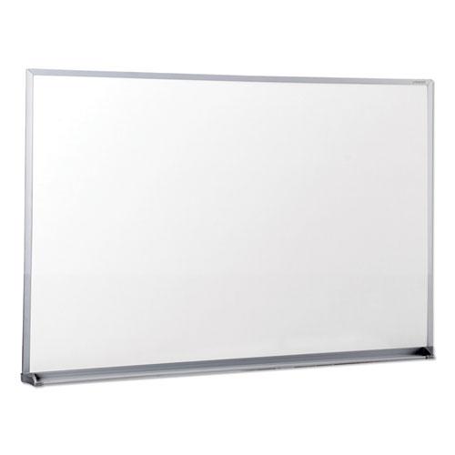 Dry Erase Board, Melamine, 36 x 24, Satin-Finished Aluminum Frame | by Plexsupply