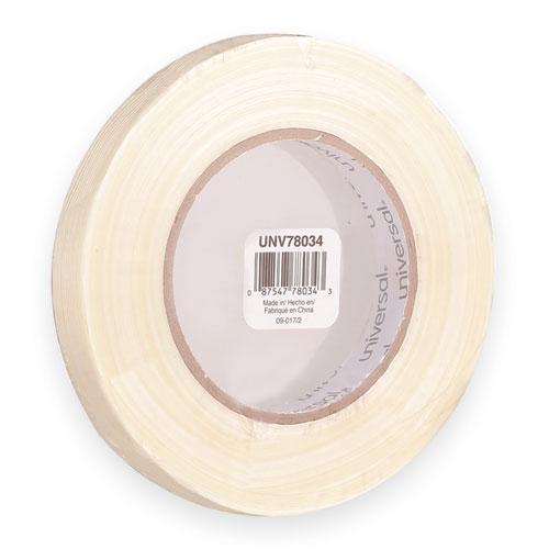 Universal® 190# Medium Grade Filament Tape, 18mm x 54 8m, 3