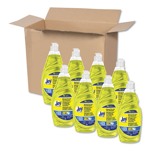 Dishwashing Liquid, 38 oz Bottle, 8/Carton