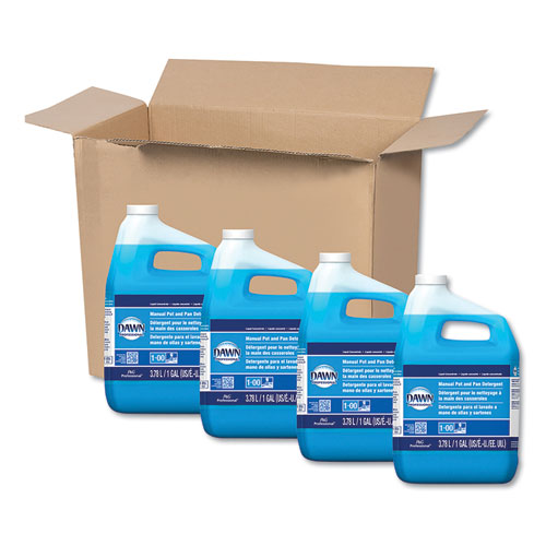 Dawn® Professional Manual Pot & Pan Dish Detergent, Original, 4/Carton