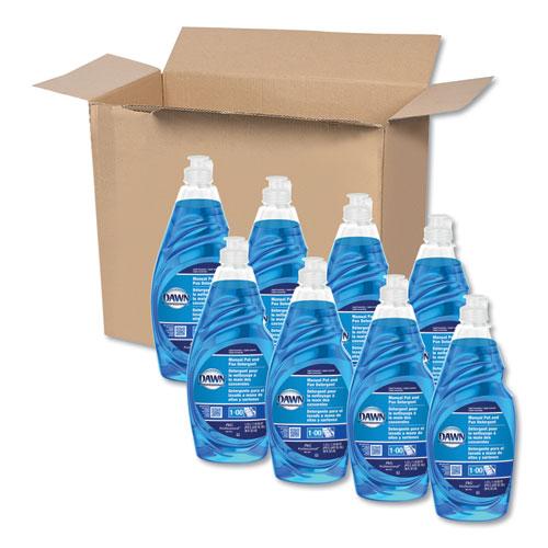 Manual Pot/Pan Dish Detergent, 38 oz Bottle, 8/Carton