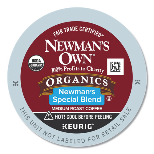 Newman's Own® Organics Special Blend Extra Bold K-Cups, 24/Box