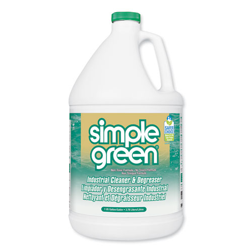 Simple Green® Industrial Cleaner and Degreaser, Concentrated, 1 gal Bottle