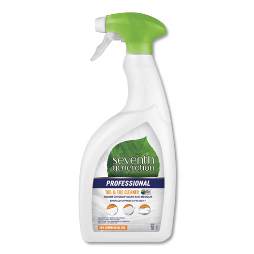 Tub and Tile Cleaner, Emerald Cypress and Fir, 32 oz Spray Bottle