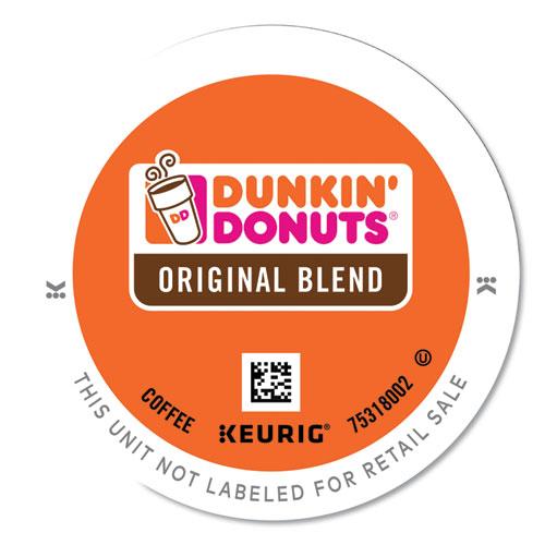 Dunkin Donuts® K-Cup Pods, Original Blend, 24/Box