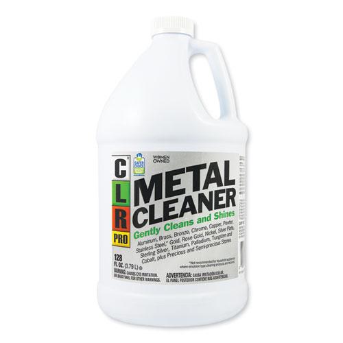 Metal Cleaner, 128 oz Bottle, 4/Carton