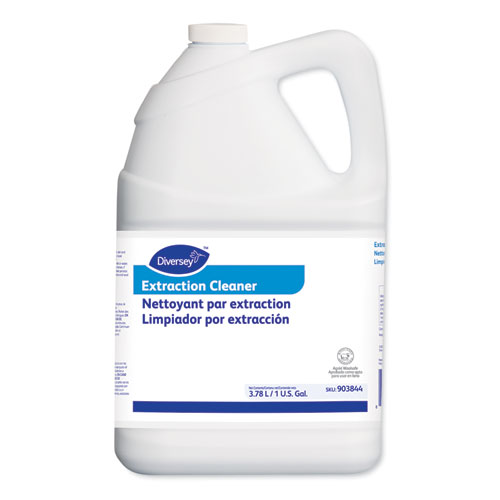 Carpet Extraction Cleaner, Liquid, Fruity Floral Scent, 1 gal, 4/Carton