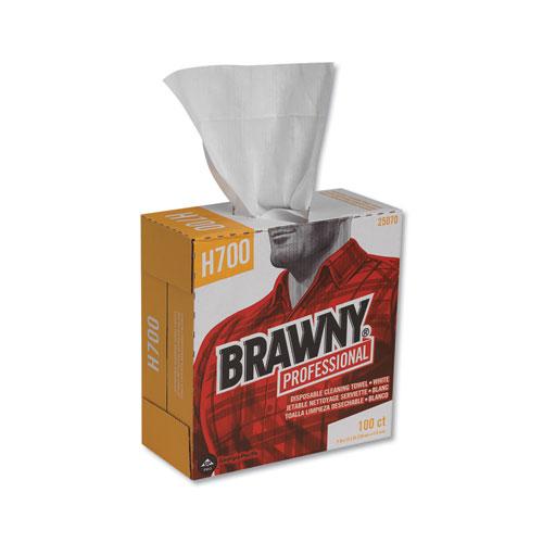 Georgia Pacific® Professional Medium Weight HEF Shop Towels, 9 1/10 x 16 1/2, 100/Box