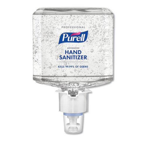 PURELL® Professional Advanced Gel Hand Sanitizer, 1200 mL, For ES6 Dispenser, 2/Carton