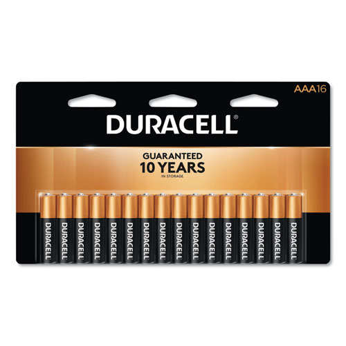CopperTop Alkaline AAA Batteries, 16/Pack | by Plexsupply