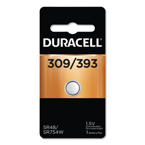 Button Cell Battery, 309/393, 1.5V