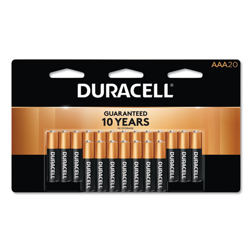 CopperTop Alkaline AAA Batteries, 20/Pack | by Plexsupply