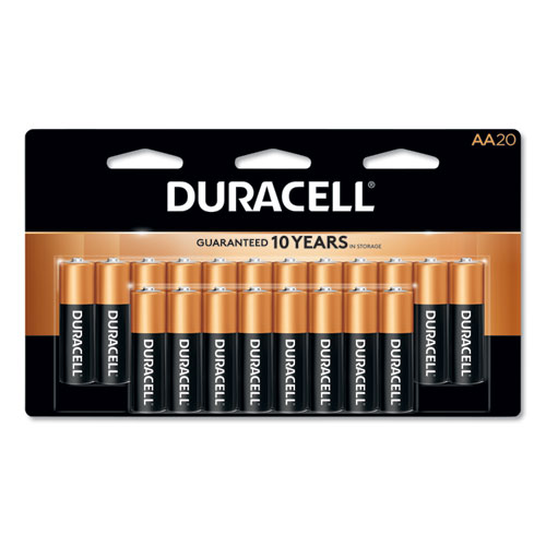 CopperTop Alkaline AA Batteries, 20/Pack | by Plexsupply