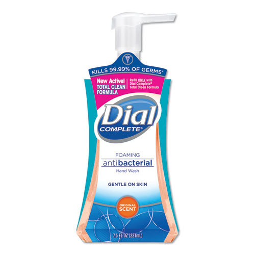 Antibacterial Foaming Hand Wash, Original Scent, 7.5 oz Pump Bottle, 8/Carton
