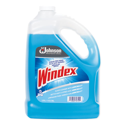 Windex® Glass Cleaner with Ammonia-D, 1gal Bottle