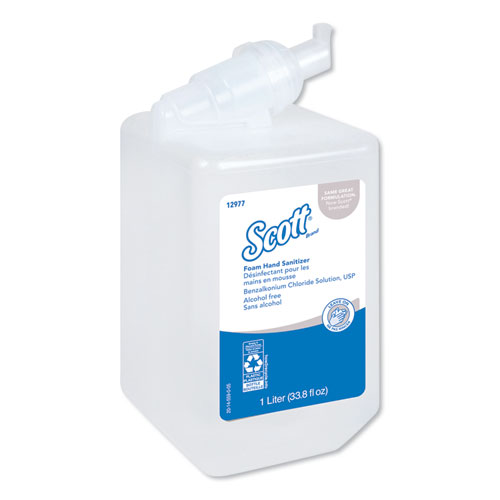 Kleenex® Alcohol-Free Foam Hand Sanitizer, 1.5 oz, Clear, 24/Carton