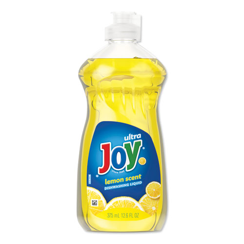 Dishwashing Liquid, Lemon Scent, 12.6 oz Bottle