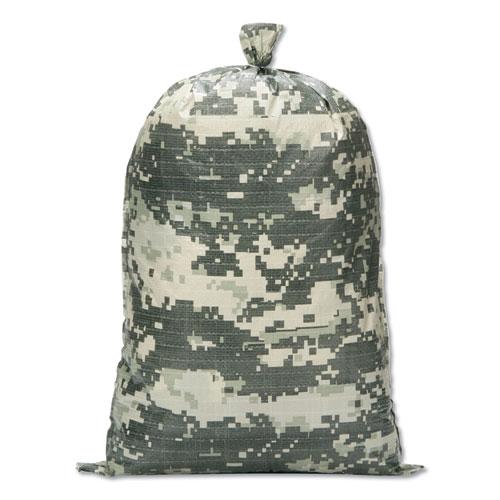 8105015681328, SKILCRAFT, Digital Camouflage Sand Bag, 100 Sand Bags