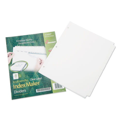 7530016006982, Avery Index Dividers, 8-Tab, Blank Tabs, Letter