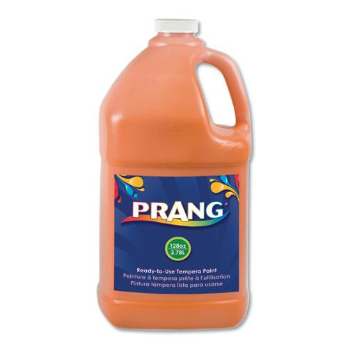 Ready-to-Use Tempera Paint, Orange, 1 gal | by Plexsupply