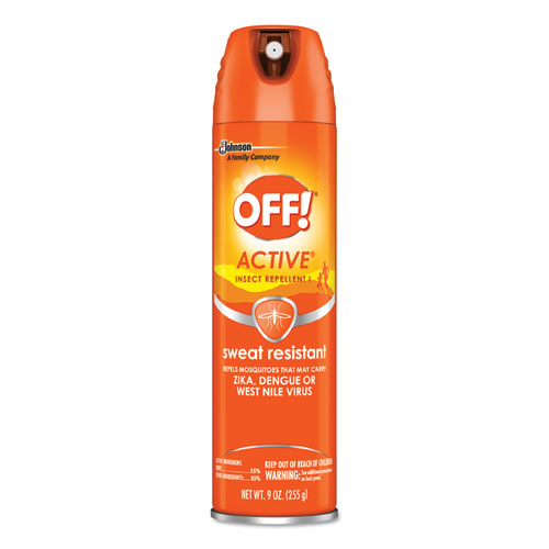ACTIVE Insect Repellent, 6 oz Aerosol, 12/Carton