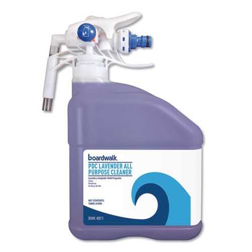 Boardwalk® PDC All Purpose Cleaner, Lavender Scent, 3 Liter Bottle, 2/Carton