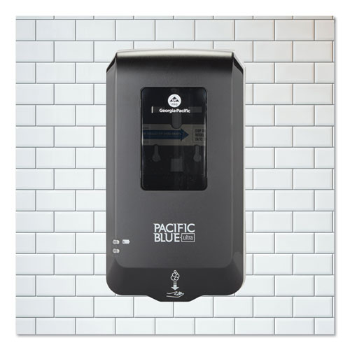 Pacific Blue Ultra Automated Touchless Soap/Sanitizer Dispenser, 1000 mL, 6.54 x 11.72 x 4, Black