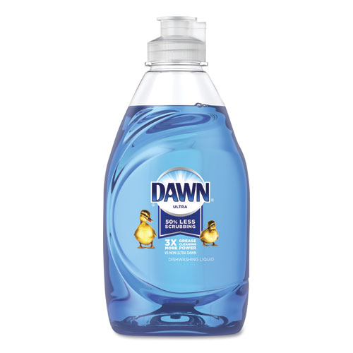 Dawn® Ultra Liquid Dish Detergent, Dawn Original, 7 oz Bottle, 18/Carton