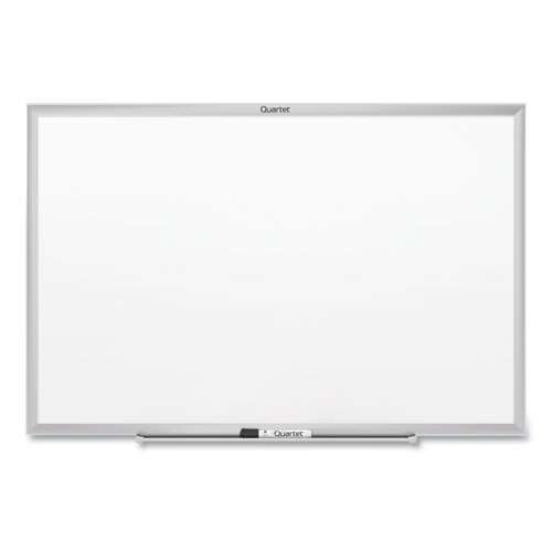 Classic Series Nano-Clean Dry Erase Board, 96 x 48, Silver Frame | by Plexsupply
