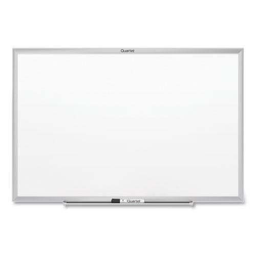Classic Series Nano-Clean Dry Erase Board, 96 x 48, Silver Frame | by Plexsupply