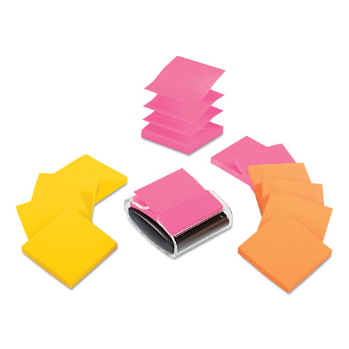 Pop-up Dispenser Value Pack, 3 x 3, 12/Pack