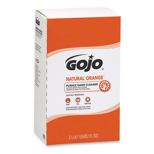 NATURAL ORANGE Pumice Hand Cleaner Refill, Citrus Scent, 2000mL, 4/Carton